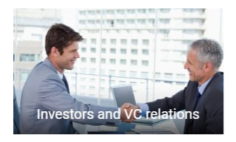 > based on our network we will bring you into contact with Investors and VC funds