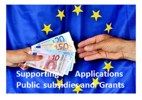 > we can support/organize  your applications for public  subsidies and grants